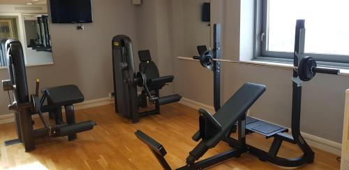 Palestra o centro fitness di Parco Dei Principi Hotel Congress & SPA
