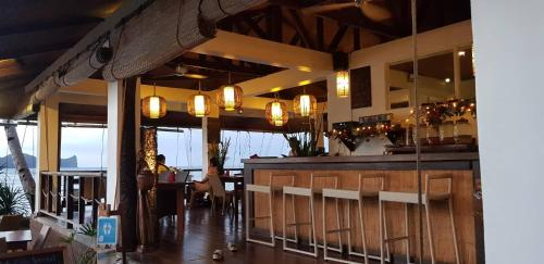 A restaurant or other place to eat at Cadlao Resort and Restaurant