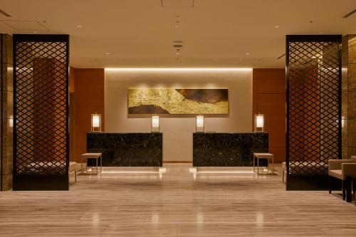 The lobby or reception area at THE KITANO HOTEL TOKYO