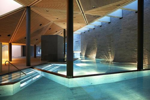 The swimming pool at or close to Tschuggen Grand Hotel - The Leading Hotels of the World
