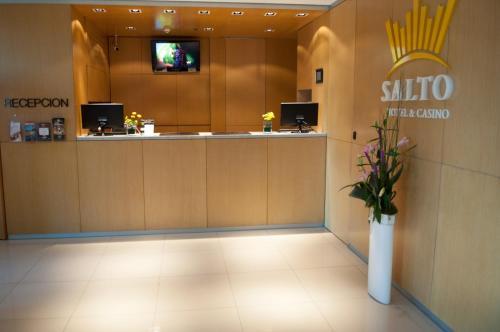 El vestíbulo o zona de recepción de Salto Hotel y Casino