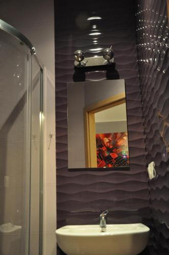 A bathroom at Topola