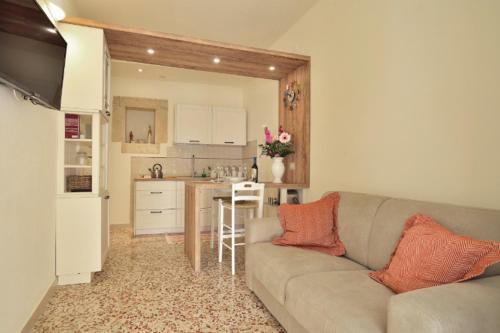 Area soggiorno di Ragusa exclusive flat with terrace and barbecue