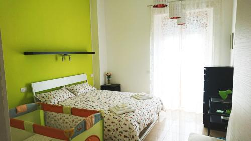 A bed or beds in a room at Casa Martino