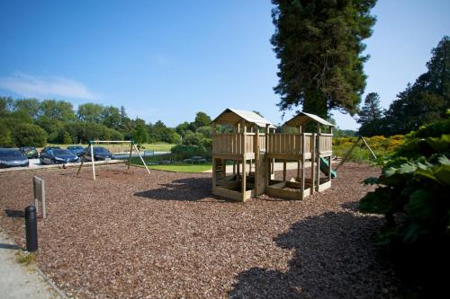 Children's play area at The Cornwall Hotel Spa & Lodges