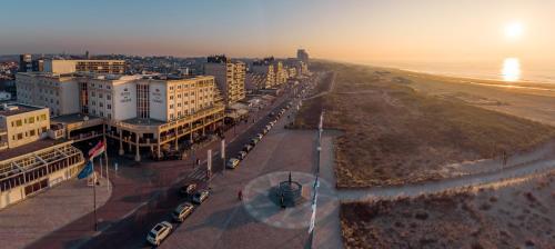 A bird's-eye view of Beach Hotel Noordwijk
