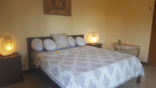 Un ou plusieurs lits dans un hébergement de l'établissement Sanshikirana House