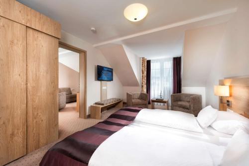 Ein Bett oder Betten in einem Zimmer der Unterkunft Best Western Plus Hotel Willingen