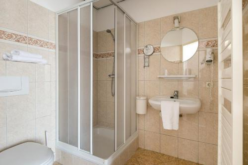 A bathroom at Hotel Randduin