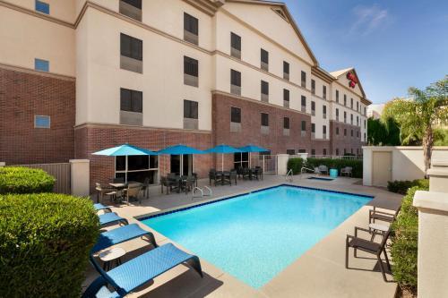 The swimming pool at or near Hampton Inn Phoenix-Midtown-Downtown Area