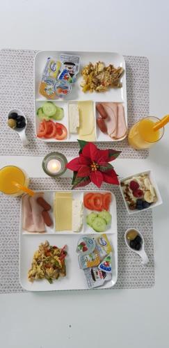 Ontbijt beschikbaar voor gasten van Hotel Sansa