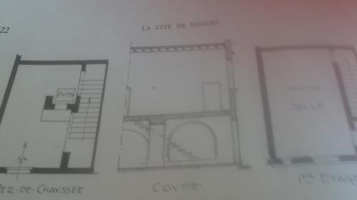 The floor plan of Mystic Hotel - Adults only