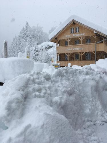 """""""Terrasse"""" Nessental during the winter"""