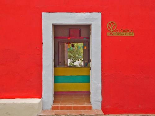 Fachada o entrada de La Ceiba Casona Rural