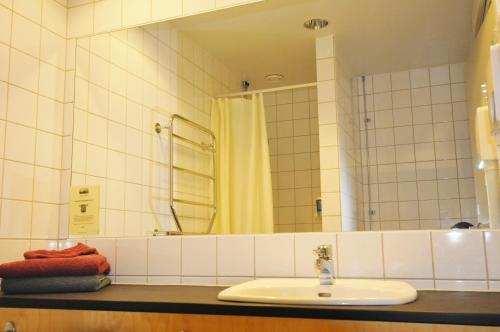 Ett badrum på Husby Säteri