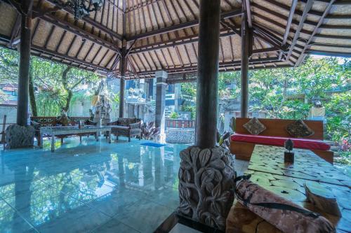 The swimming pool at or close to Dewangga Ubud