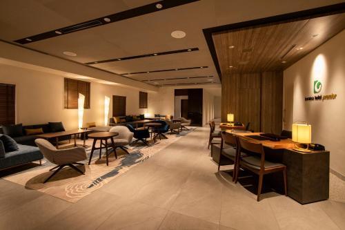 A restaurant or other place to eat at karaksa hotel premier Tokyo Ginza