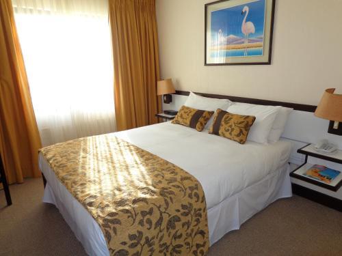 Cama ou camas em um quarto em Park Hotel Calama
