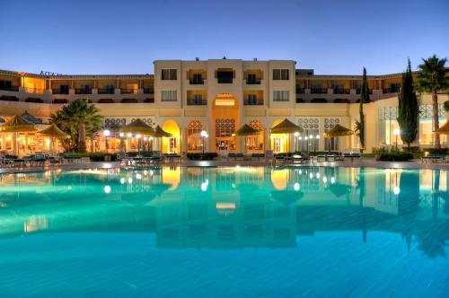 The swimming pool at or near Ramada Plaza by Wyndham Tunis