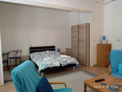Postel nebo postele na pokoji v ubytování Lara apartman