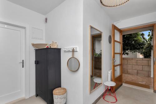 A bathroom at Apartments & Rooms Rica
