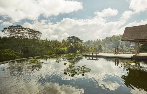 The swimming pool at or near Four Seasons Resort Bali at Sayan