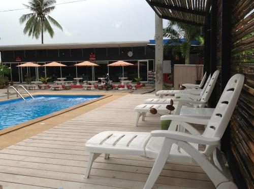 The swimming pool at or close to Nest Boutique Resort