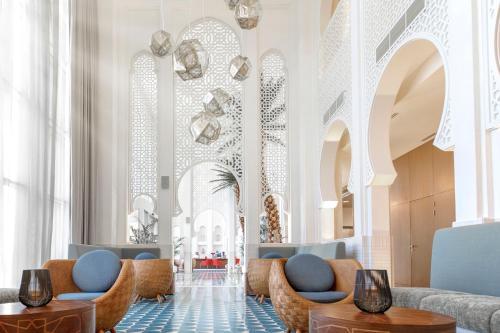 A seating area at Shaza Riyadh