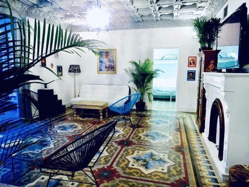 Lobby/Rezeption in der Unterkunft Casa Kessler Barcelona