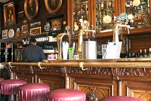Salon ou bar de l'établissement Hotel Prins Hendrik
