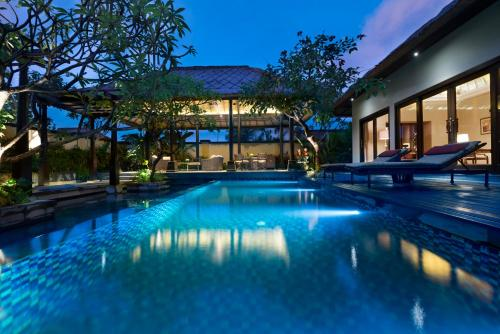 The swimming pool at or near The Trans Resort Bali