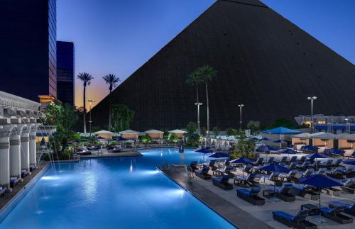 The swimming pool at or near Luxor