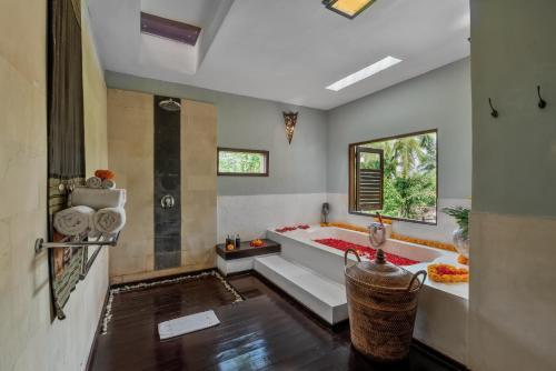 A bathroom at Villa Bodhi