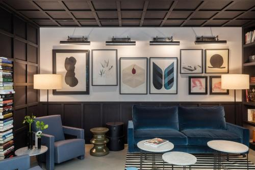 A seating area at Boutique Hotel Casa Volver