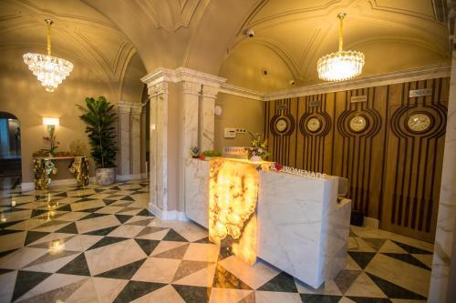 منطقة الاستقبال أو اللوبي في Promenade Hotel Baku
