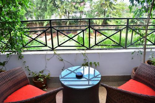 A balcony or terrace at Maison Mitwaba