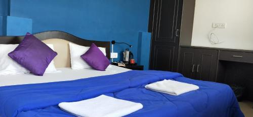 Cama o camas de una habitación en Joey's Hostel Agra