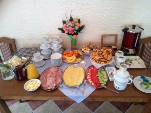 Opcje śniadaniowe w obiekcie Zbójna Debra