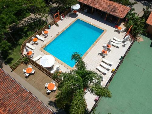 A view of the pool at Hotel São Sebastião da Praia or nearby