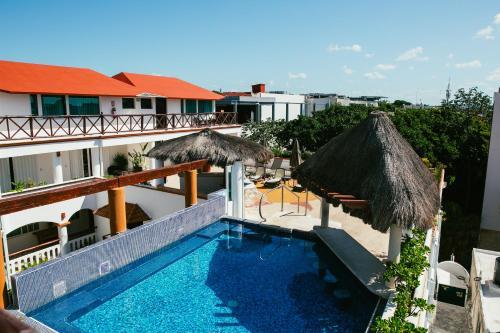 Uitzicht op het zwembad bij Illusion Boutique Hotel By Xperience Hotels of in de buurt