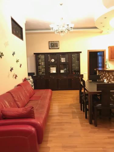 Гостиная зона в Kutuzov House on Kutuzovsky prospekt
