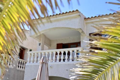 A balcony or terrace at El Bosque