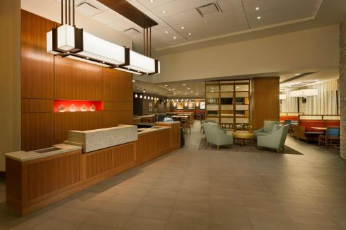 The lobby or reception area at Hyatt Place Austin Downtown