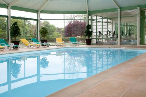 The swimming pool at or near Domaine des Roches