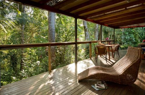 A balcony or terrace at Sharlynn by the River