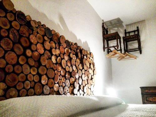 Letto o letti in una camera di Dulcis in Borgo