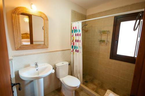 Un baño de Apartamentos Turísticos Rincón de la Magdalena