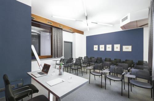Der Geschäftsbereich oder Konferenzraum in der Unterkunft c-hotels Atlantic