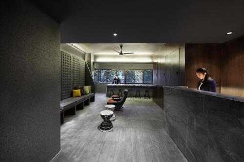 Lobby/Rezeption in der Unterkunft The Pod @ Beach Road Boutique Capsule Hotel (SG Clean)