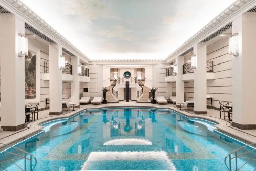 The swimming pool at or close to Ritz Paris